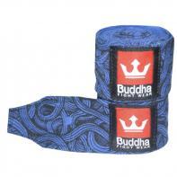 Bandes de boxe Tattoo blue Buddha 4,5 m