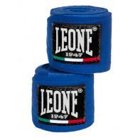 Bandes de boxe Leone 3,5 m semi-élastiques bleu