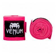 Bandes de boxe Venum 2,5m Neo Pink