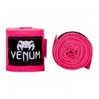 Bandes de boxe Venum 4m Neo Pink